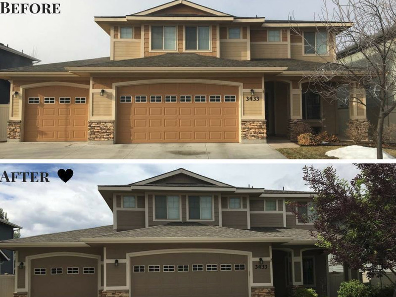 Exterior House Painting Boise | Residential and Commercial