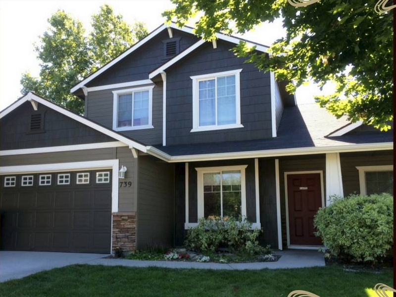 Boise painting spray 39 n coat exterior and interior - How to spray paint your house exterior ...
