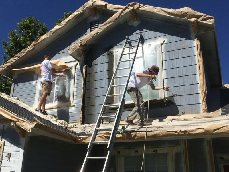 Exterior House Painting Boise   Residential and Commercial